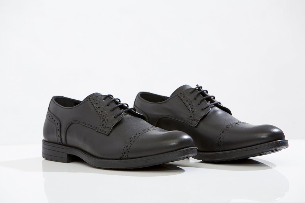 MARCO F. leather oxford shoes