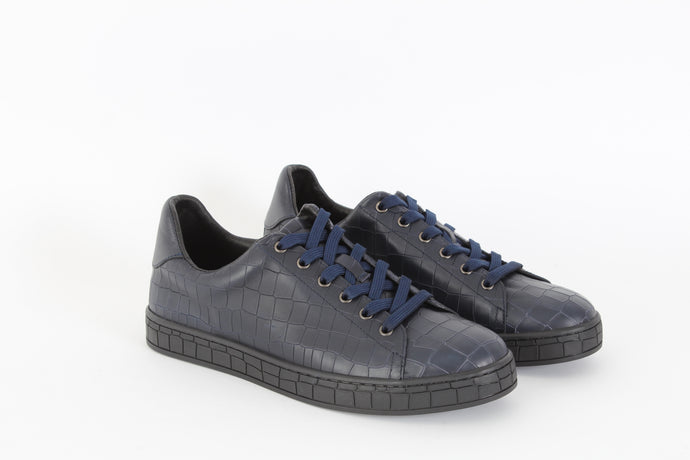 MARIO CERRUTTI  Croc low top sneakers