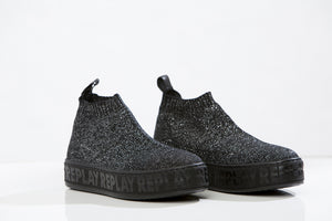 REPLAY Sock- style boots