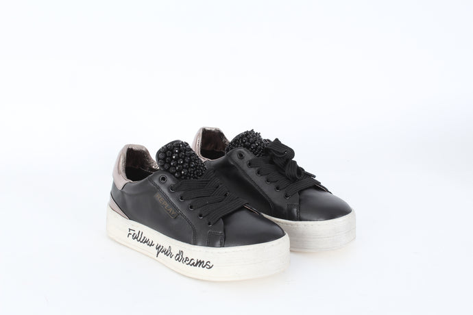 REPLAY Shields lace up sneakers