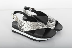 SANTINI Cross-over sandals