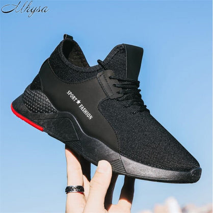 on sale 929ed 8e18d Mhysa 2019 Spring and autumn new men s casual shoes men s flat shoes  comfortable and breathable men s