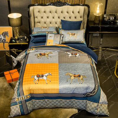 Windsor Royal Horse Duvet Cover Set (6 Pieces)