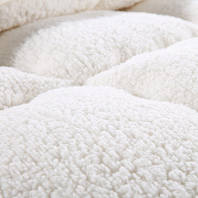 WARM WINTER WOOL QUILT COMFORTER