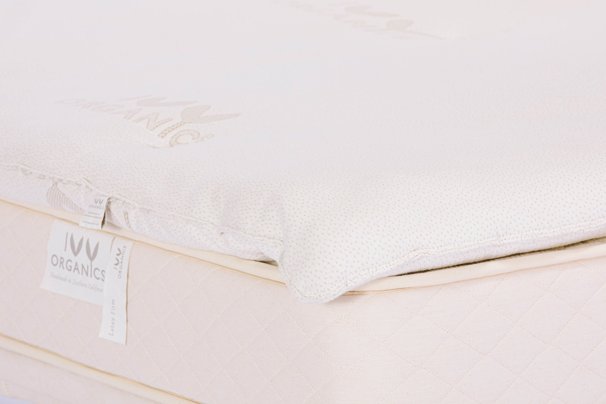 Wool Mattress Topper - 4 Inch - Ivy Organics