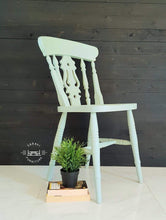 Load image into Gallery viewer, Rustic Farmhouse dining chairs - Custom Painted - Rustic - Country Decor