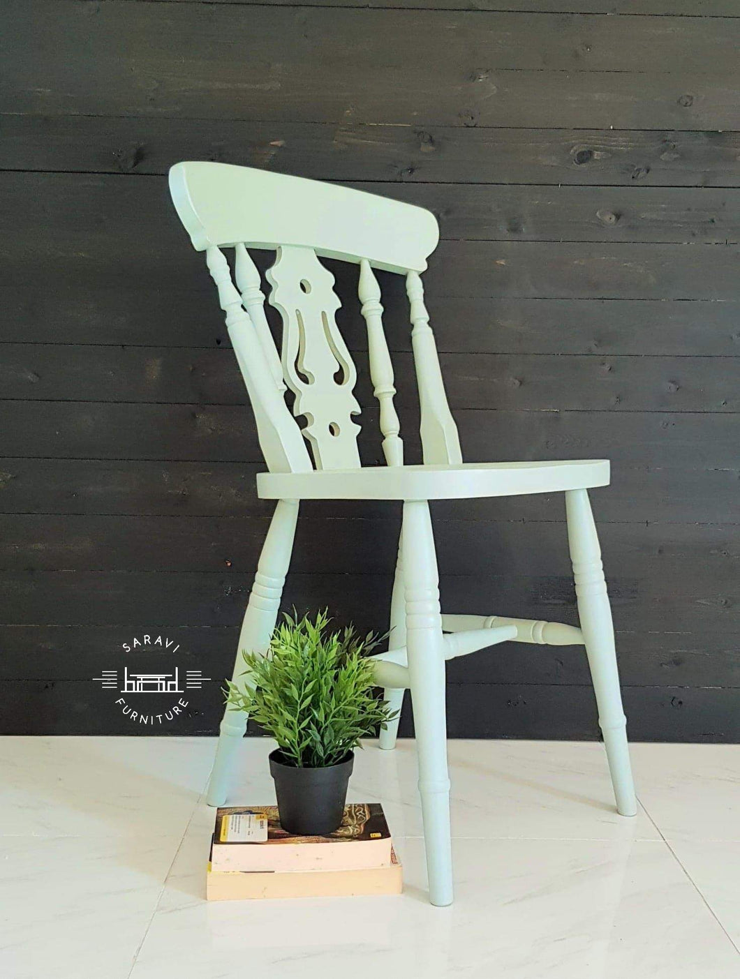 Rustic Farmhouse dining chairs - Custom Painted - Rustic - Country Decor