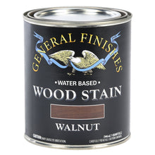 Load image into Gallery viewer, Walnut Water based wood stain tin 473ml by General Finishes