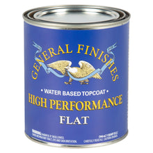 Load image into Gallery viewer, High Performance Top Coat - Flat -Water Based - General Finishes - 473ml