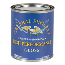 Load image into Gallery viewer, High Performance Top Coat - Gloss - Water Based - General Finishes - 473ml