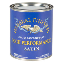 Load image into Gallery viewer, High Performance Top Coat - Satin -Water Based - General Finishes - 473ml