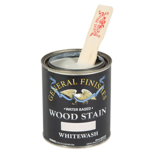 Whitewash Water based wood stain tin 473ml by General Finishes