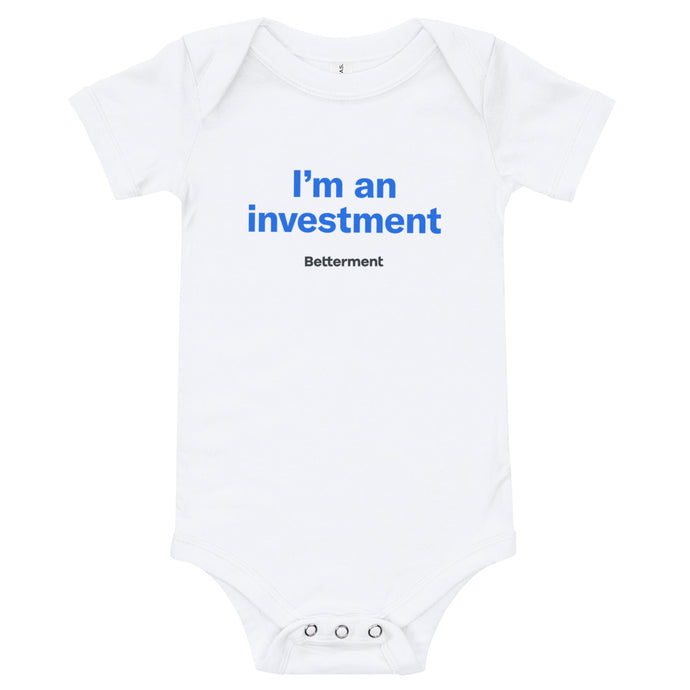 I'm an Investment Onesie