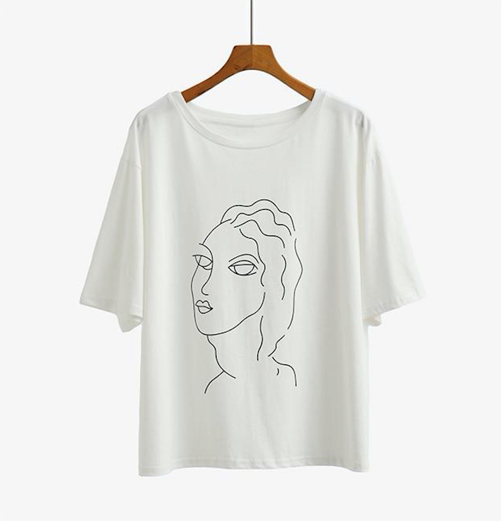 """PORTRAIT DRAWING"" TEE"