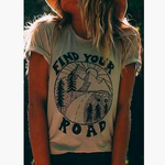 """FIND YOUR ROAD"" TEE"