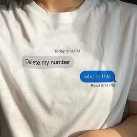 """Delete My Number"" TEE"