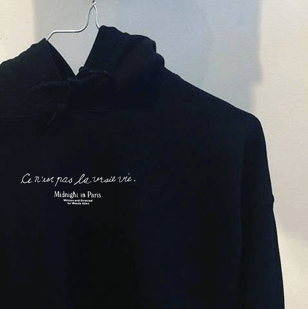 """MIDNIGHT IN PARIS"" HOODIE"