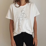 """EGON SCHIELE DRAWING"" TEE"