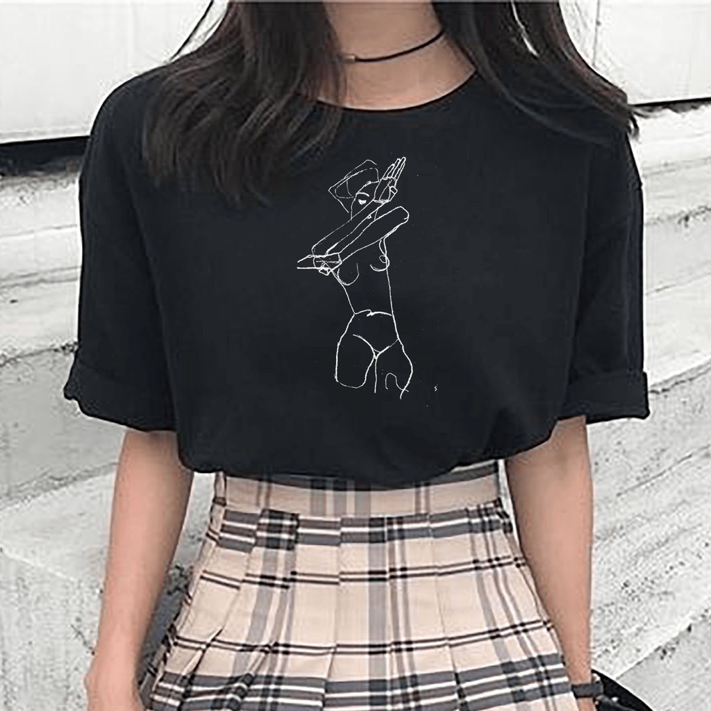 EGON SCHIELE DRAWING TEE
