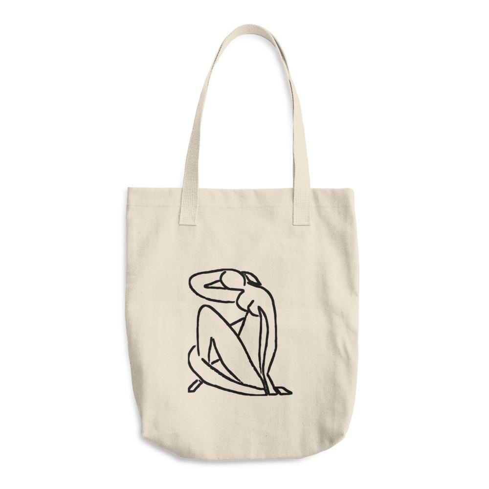 """MATISSE INSPIRED"" TOTE BAG"