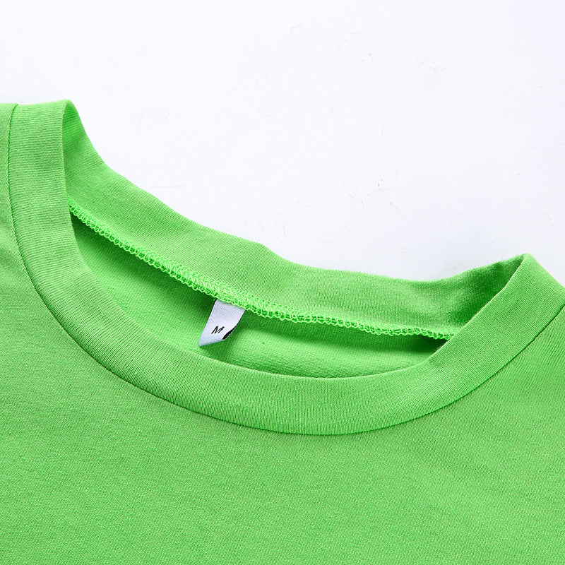 """Cupid Neon Green"" TEE"