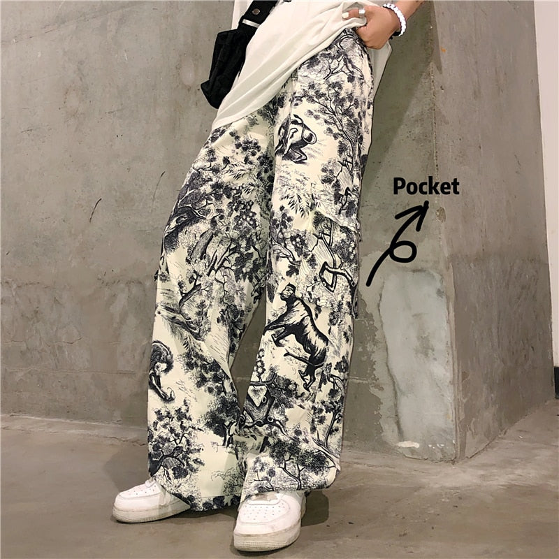 """Aesthetic Cargo"" Pants"