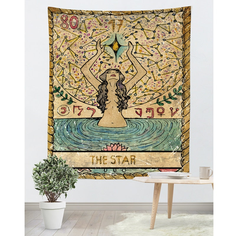"""Tarot Card"" Blanket"