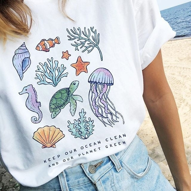 "Keep Our Ocean Clean"" TEE"