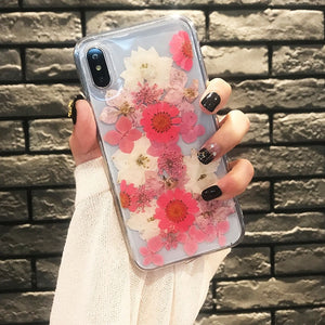 """Real Dried Flower"" IPHONE CASES"