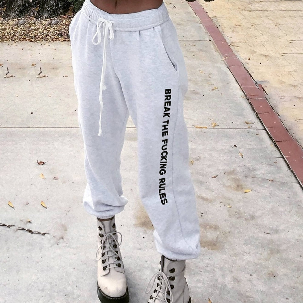 """Break The Rules"" SWEATPANTS"