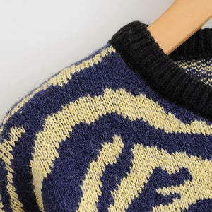 """Aesthetic Knitted Pullover"""