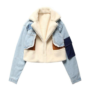 """Aesthetic Jean"" JACKET"