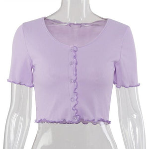"""Aesthetic Ruffle"" TOP"