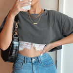 """Aesthetic Dentelle"" CROP TOP"