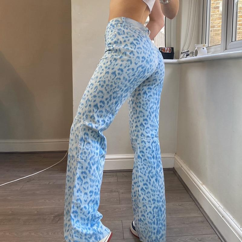 """Blue Leopard"" PANTS"