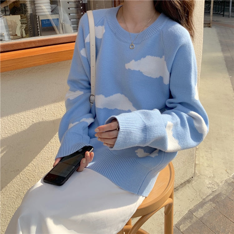 """Aesthetic Clouds"" SWEATER"