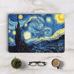 Van Gogh's Starry Sky Macbook Skin