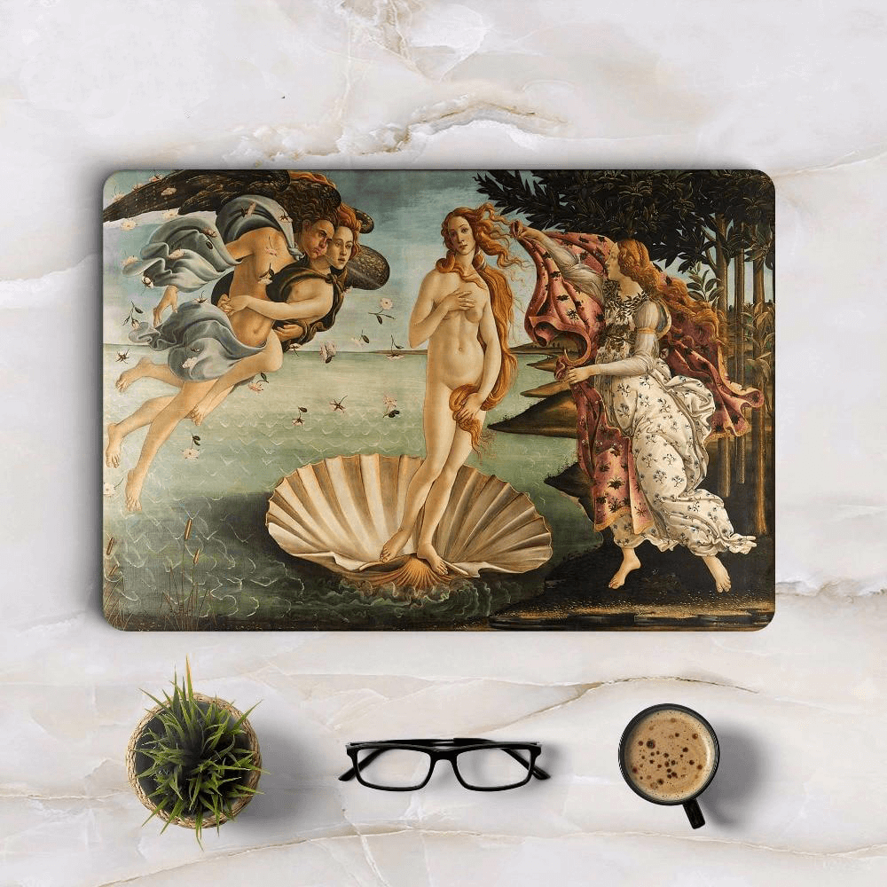 The Birth of Venus Macbook Skin