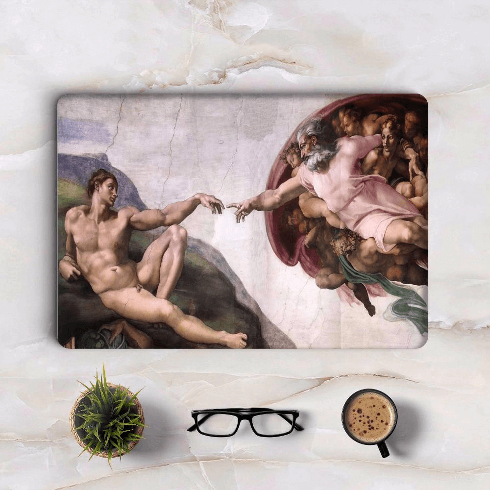 Michelangelo Art Macbook Skin