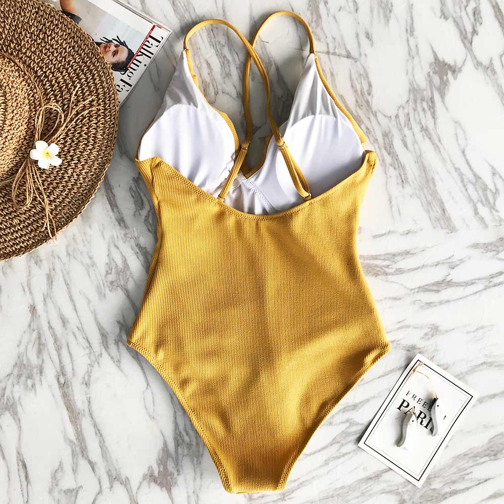 """WAVY RUFFLE"" SWIMSUIT"