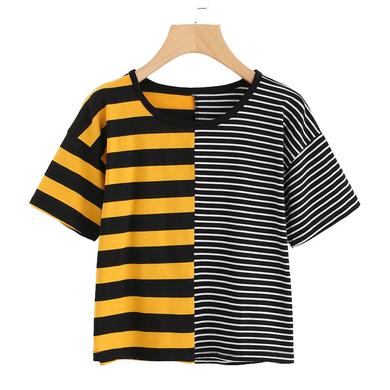 """DOUBLE STRIPES"" TEE"