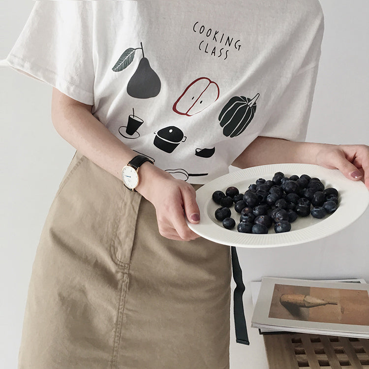 """COOKING CLASS"" TEE"