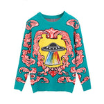 """UFO"" KNITTED SWEATERS"