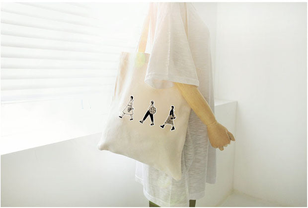 """ARTY DRAWING"" TOTE BAGS"