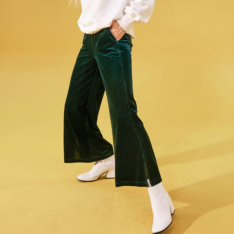 """LOOSE VELOUR"" PANTS"