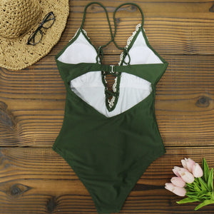 """DENTELLE"" SWIMSUIT"