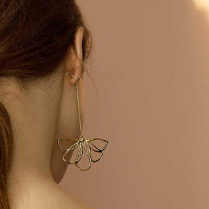 """ARTY FLOWER"" EARRINGS"