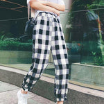 """LOOSE PLAID"" PANTS"