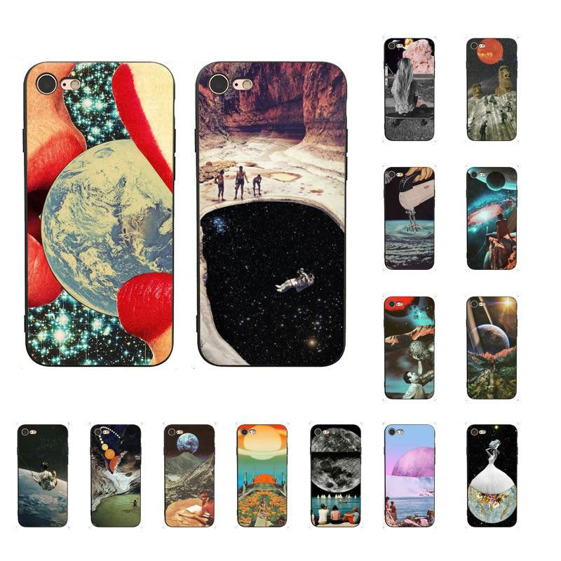 """TRIPPY ART"" PHONE CASE"