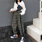"""STREET PLAID"" PANTS"